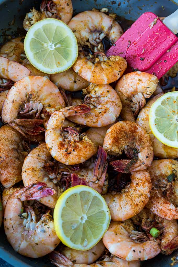 Skinny BBQ Shrimp