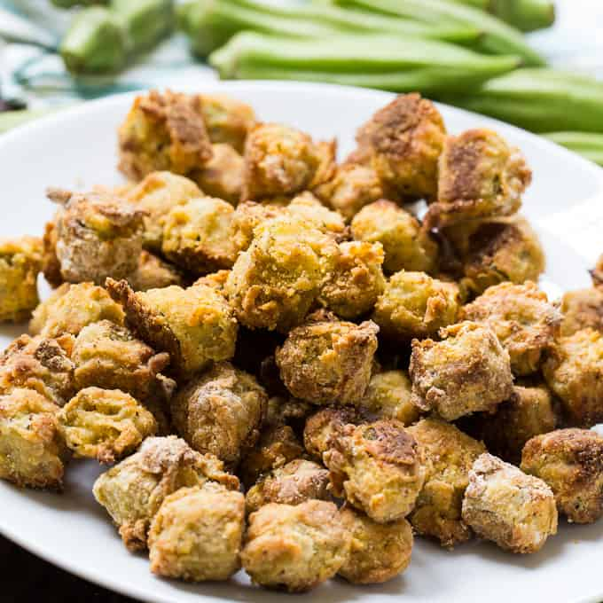 Baked Fried Okra