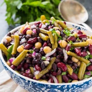 Clean 4-Bean Salad