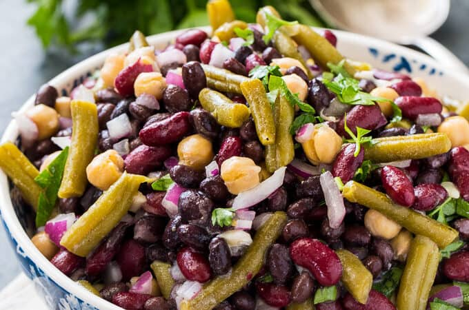 Clean 4-Bean Salad