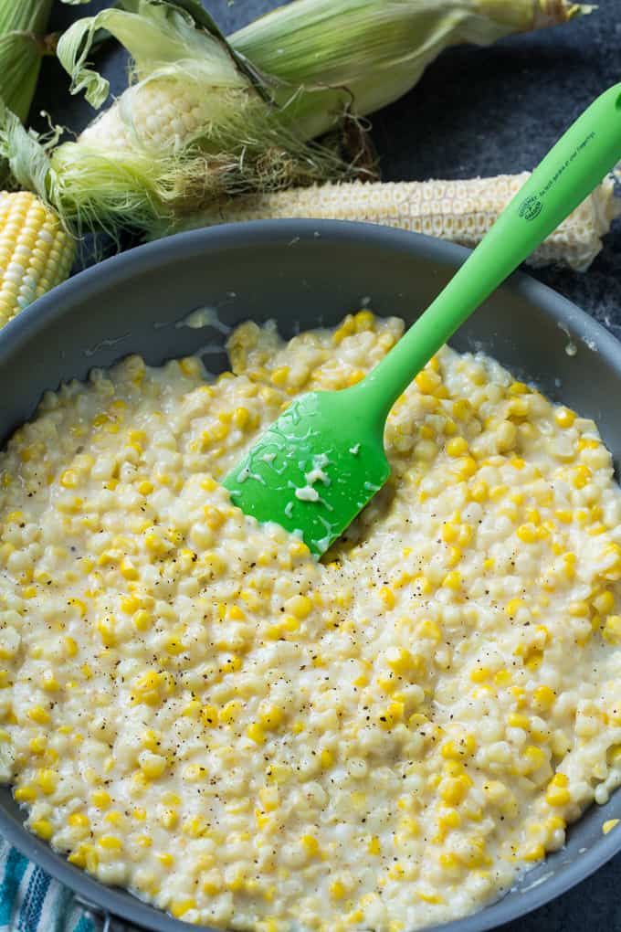 Skinny Creamed Corn