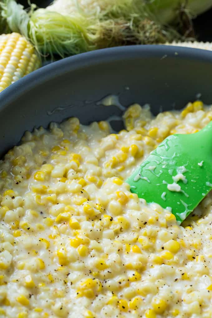 Skinny Southern Creamed Corn