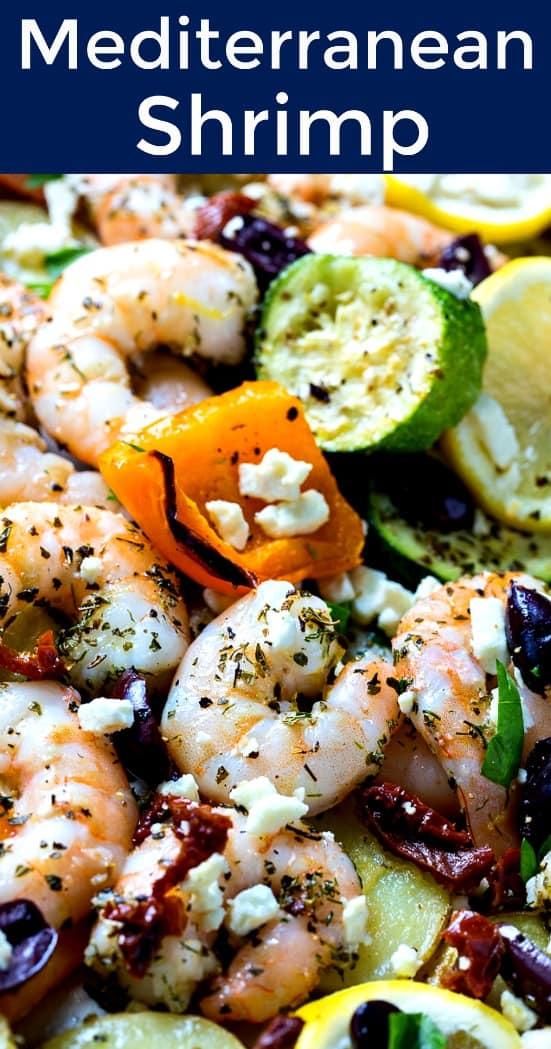 Sheet Pan Mediterranean Shrimp
