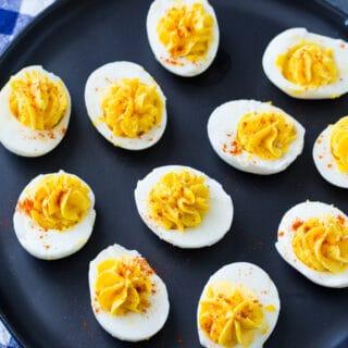 Skinny Deviled Eggs