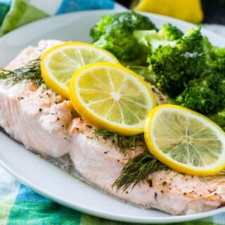Instant Pot Lemon Pepper Salmon