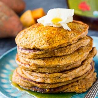 Low Carb Sweet Potato Pancakes