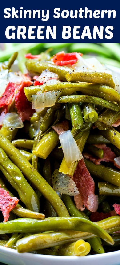 Skinny Southern Green Beans #paleo #weightwatchers #lowcarb