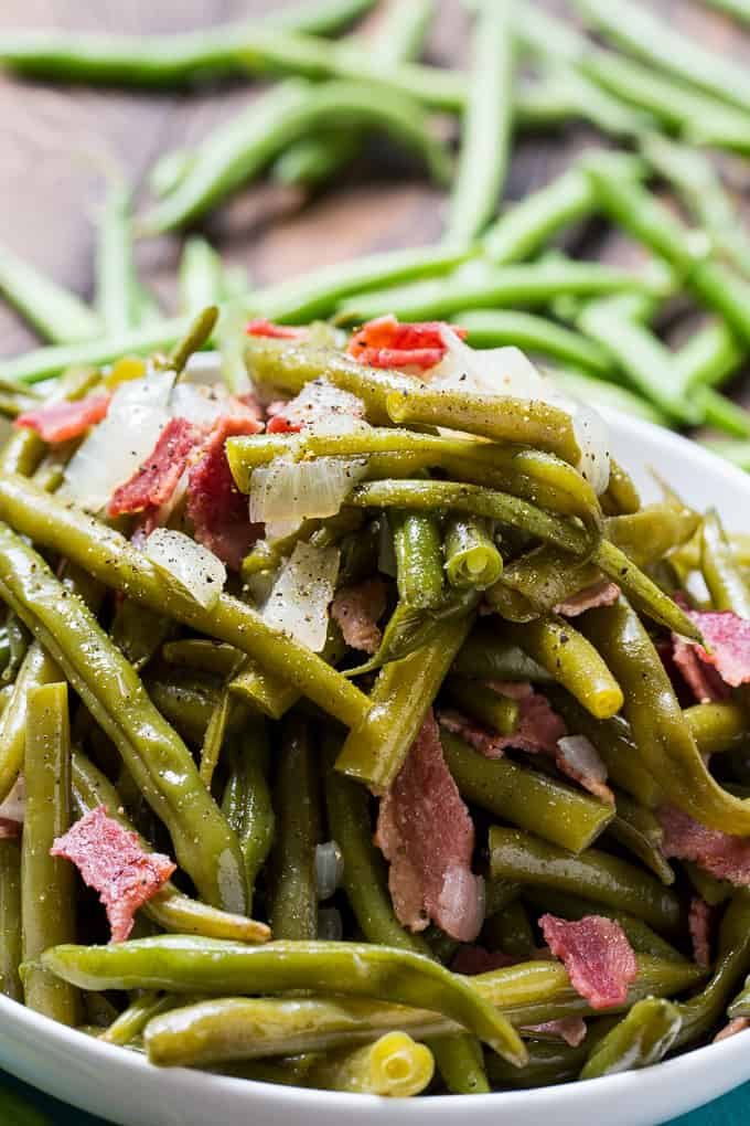 Skinny Southern Green Beans