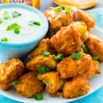 Air Fryer Buffalo Chicken Bites