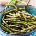 Air Fryer Asian-Style Green Beans