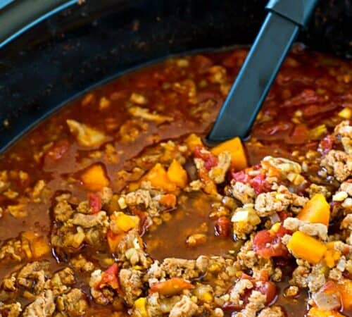 Crock Pot Paleo Sweet Potato Chili
