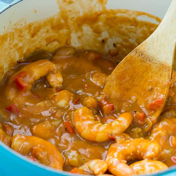 Skinny Shrimp Etouffee Skinny Southern Recipes