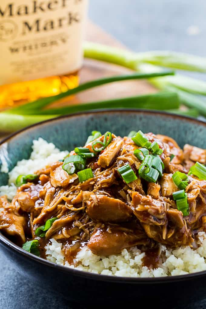 Crock Pot Low Carb Bourbon Chicken