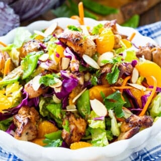 Asian Chicken Chopped Salad (Whole30 Paleo Keto)