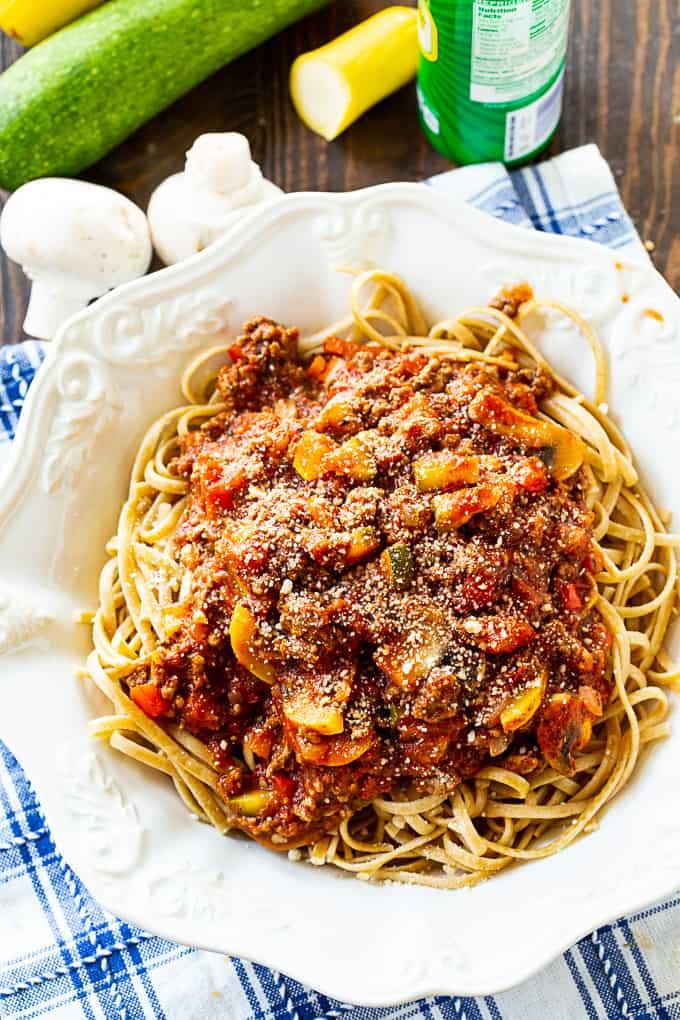 Hearty Garden Spaghetti Sauce