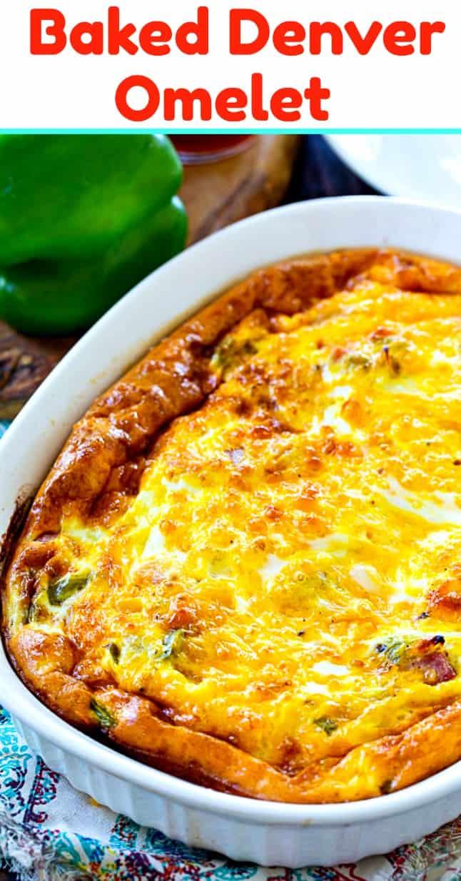 Low Carb Baked Denver Omelet