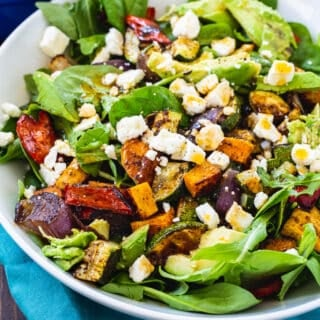 Southwestern Roasted Vegetable Salad