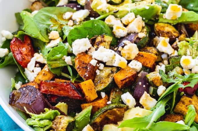 Southwestern Roasted Vegetable Salad