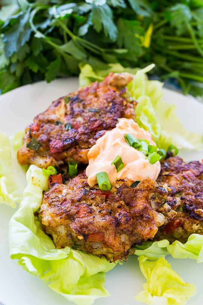 Low Carb Shrimp Cakes