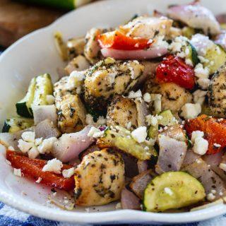 Air Fryer Greek Chicken