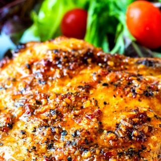 Air Fryer Honey Mequite Pork Chops