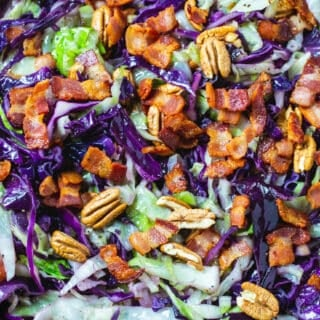 Cabbage with Bacon and Pecans