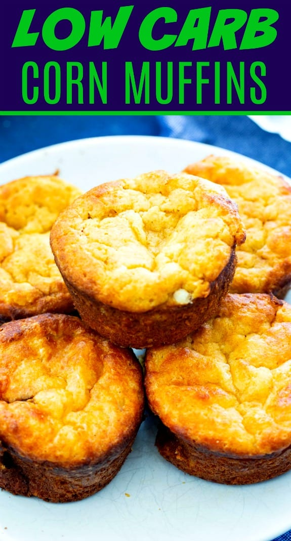 Low Carb Corn Muffins
