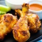 Air Fryer Buffalo Chicken Drumsticks