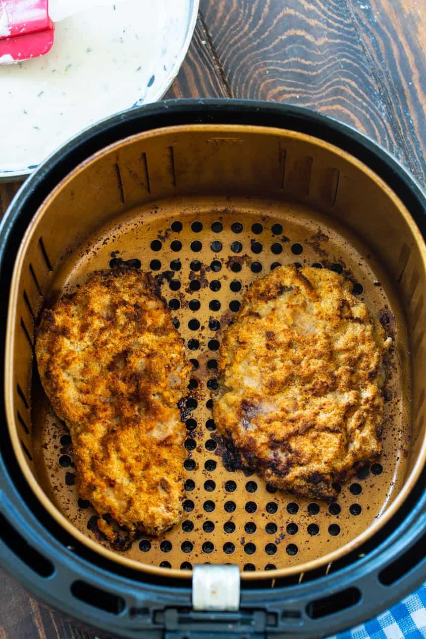 Chicken Fried Steak in a Power Air Fryer XL