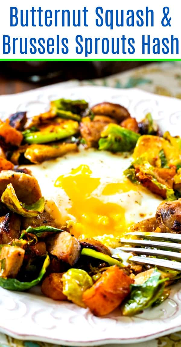 Butternut Squash and Brussels Sprouts Hash