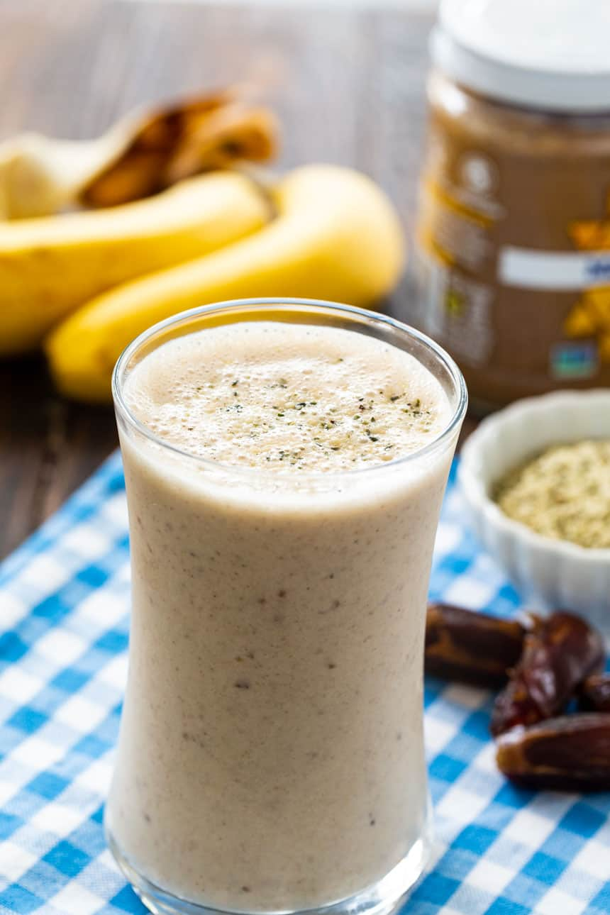 Almond Date Breakfast Smoothie