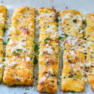 Keto Italian Breadsticks