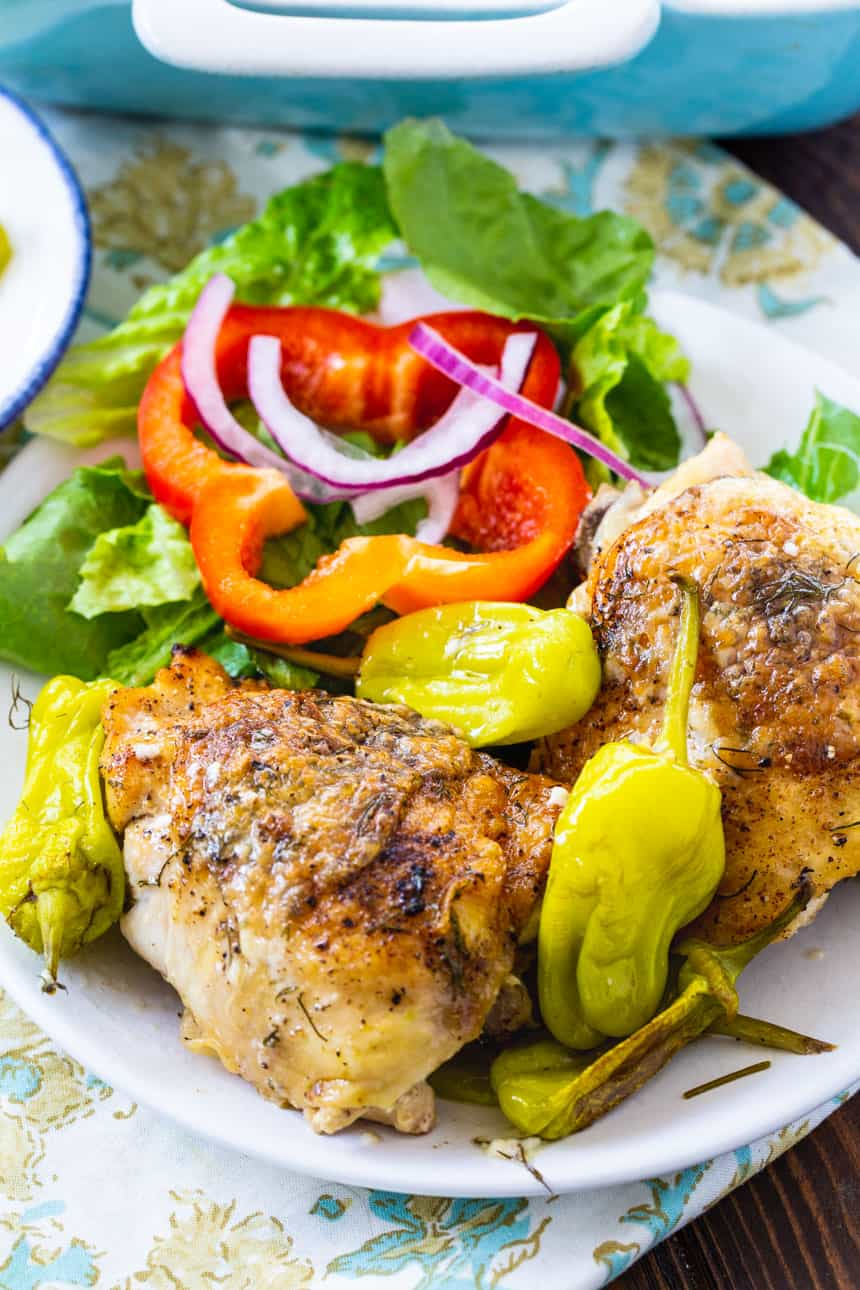 Low Carb Mississippi Chicken Thighs
