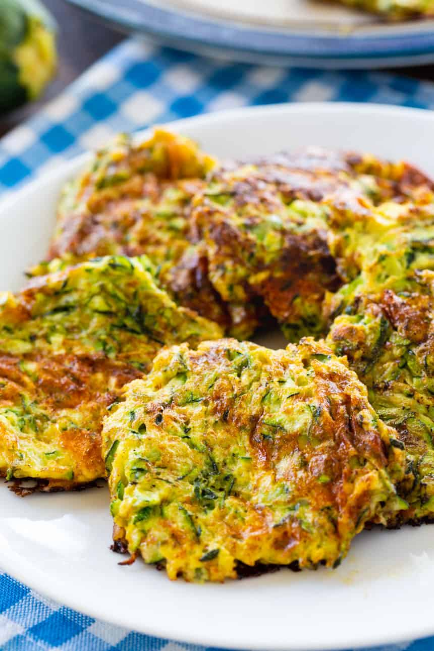 Hashbrowns made from zucchini